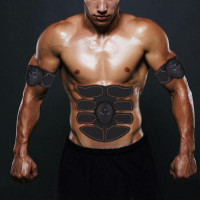 Фитнес электрические мышцы стимулятор брюшной упражнение машина