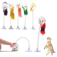 Товары для домашних животных нижней присоски перо упругой