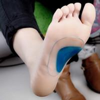 Мягкий гель ортопедических арки поддержки подушки стельки