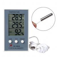 Цифровые крытый наружной температуры термометр гигрометр гигрометр