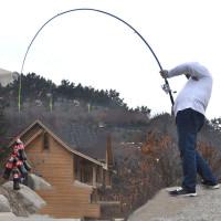 Телескопическая удочка для рыбалки