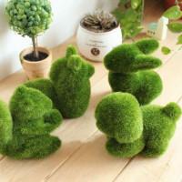 Искyсственные растения в виде животных для декора