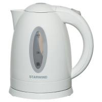 Чайник электрический Starwind SKP2211 1.7л. 2200Вт белый