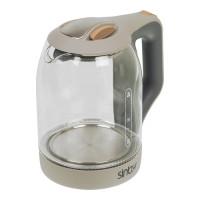 Чайник Sinbo SK 7377 1.8л. 1800Вт серый