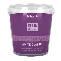 Ollin Professional BLOND PERFORMANCE White Classic Классический осветляющий