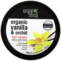 Organic Shop Мусс для тела Бурбонская ваниль