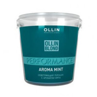 Ollin Professional BLOND PERFORMANCE Aroma Mint Осветляющий порошок