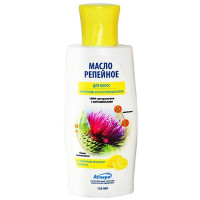 Аспера масло для волос репейное легкосмываемое