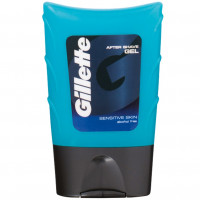 Gillette Sensitive skin гель после бритья