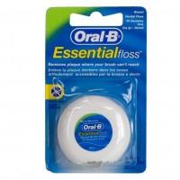 Орал би зубная нить EssentialFloss вощеная мятная