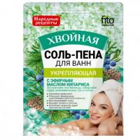 Фитокосметик Народные рецепты соль пена для ванн