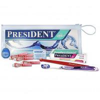 Президент Брекет набор: зубая щетка ортодонтическая, щетка