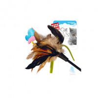 GiGwi Игрушка на стеке для кошек, с бабочкой