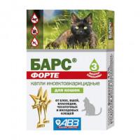 АВЗ Барс Форте Капли инсектоакарицидные для взрослых