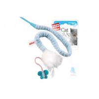 GiGwi Игрушка на стеке для кошек, с перьями