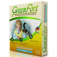 Green Fort БиоОшейник от внешних паразитов для кошек