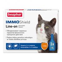 Beaphar ImmoShield Line on Капли антипаразитарные для кошек,
