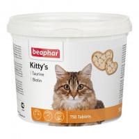 Beaphar Kitty's Taurin + Biotin Витаминизированное лакомство