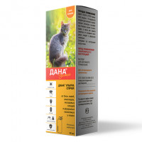 Дана Ультра Спрей антипаразитарный для кошек, 95 мл