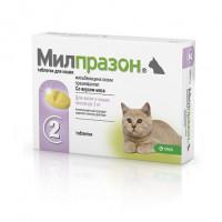 KRKA Милпразон Антигельминтик для котят и молодых