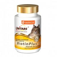 Unitabs BiotinPlus Витамины для кошек (с биотином
