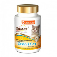 Unitabs SterilCat Витамины для кастрированных котов и стерилизованных