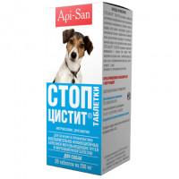 Api San Стоп Цистит Таблетки для собак
