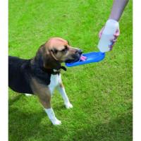 Savic Поилка для собак дорожная, бело голубая,