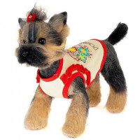 Happy Puppy Романтика Майка для собак, унисекс
