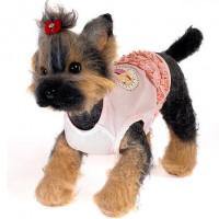 Happy Puppy Нежность Майка для собак, унисекс