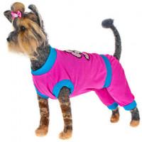 Happy Puppy Прогулочный Костюм для собак, розовый, девочка