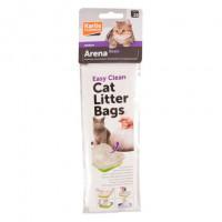 Flamingo Пакеты для кошачьего туалета, 10 шт