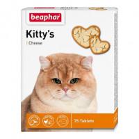 Beaphar Kitty's + Cheese Витаминизированное лакомство для кошек