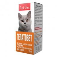 Api San Гепатовет Суспензия для кошек при заболеваниях