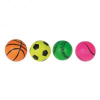 Flamingo Игрушка для собак, неоновый мяч