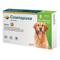 Симпарика Инсектоакарицидный препарат от клещей для собак