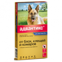 Адвантикс GOLD Капли антипаразитарные для собак