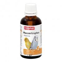 Beaphar Mausertropfen Витамины для птиц в период