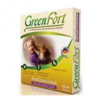 Green Fort БиоОшейник от внешних паразитов для собак