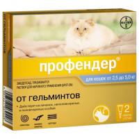 Профендер ГОЛД Капли для кошек от
