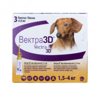 Ceva Вектра 3D инсектицидные капли для собак