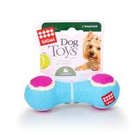 GiGwi Игрушка для собак, гантеля с пищалкой
