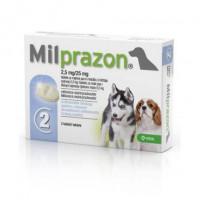 KRKA Милпразон Антигельминтик для щенков и мелких