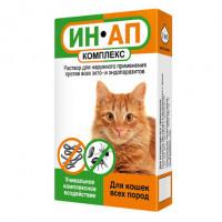 Ин Ап Капли антипаразитарные для кошек,