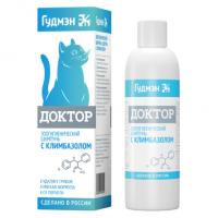 Доктор Шампунь для кошек (с климбазолом), 200 мл