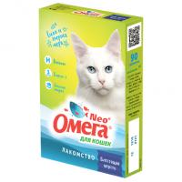 Омега Neo+ Блестящая шерсть Лакомство для кошек
