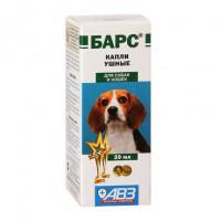 АВЗ Барс Ушные капли для собак и кошек