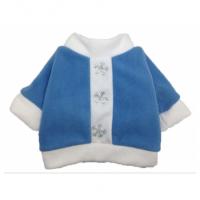 Yoriki Снегурочка Пуловер для собак, голубой, унисекс