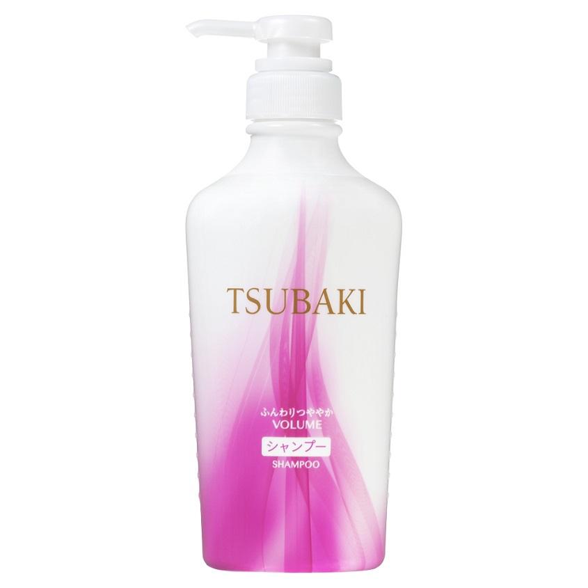 TSUBAKI Шампунь Объемные и блестящие VOLUME & SHINE