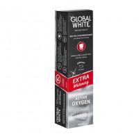 GLOBAL WHITE Отбеливающая зубная паста EXTRA Whitening
